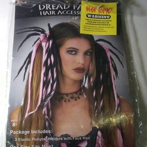 HOT TOPIC Dread Falls Wig Gothic Lolita Ponytails